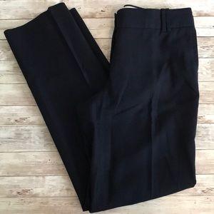 Jcrew navy blue cotton city fit pants